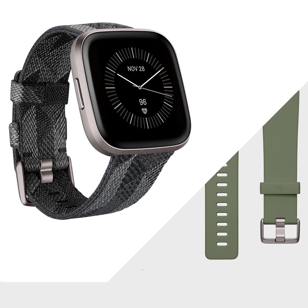 Fitbit Versa 2 Smoke Woven/Grey