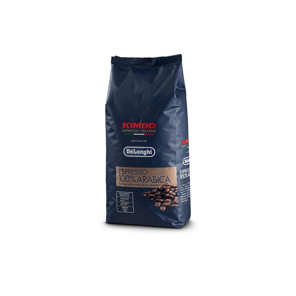 Arabica Delonghi-Kimbo coffee beans 250g