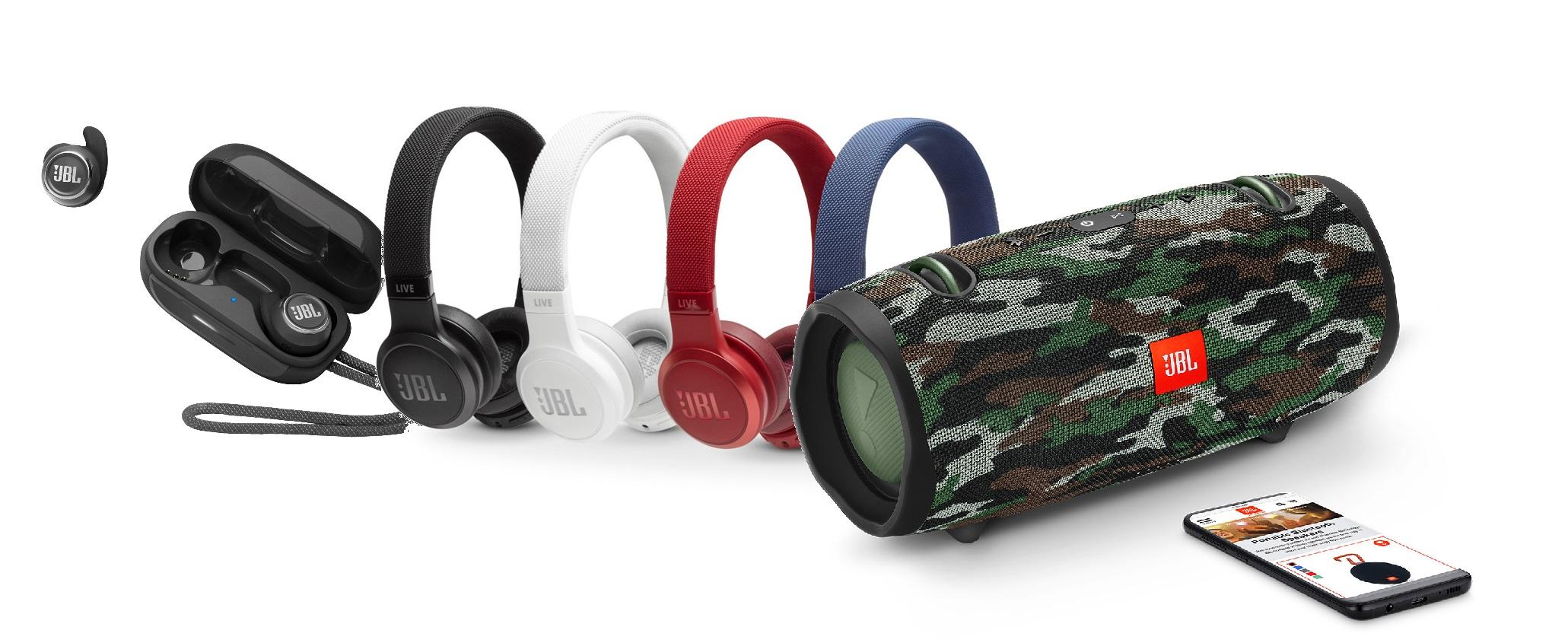 Wireless Speakers & Headphones